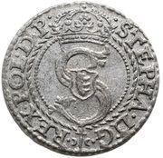 Szeląg pruski - Stefan Batory (Malbork mint) – obverse