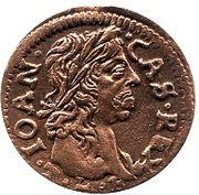 Szeląg litewski - Jan II Kazimierz Waza (Ujazdów mint) -  obverse