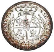 Szóstak koronny  - August III (Lipsk mint) -  reverse