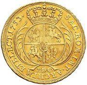 Dwudukat koronny - August III Sas (Lipsk mint) – reverse