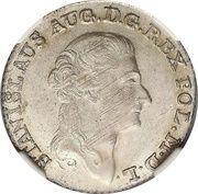 Złotówka koronna - Stanisław August Poniatowski (Warszawa mint) – obverse