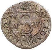 Szeląg koronny - Zygmunt III Waza (Poznań mint) – reverse