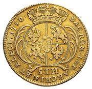 Augustdor koronny - August III Sas (Lipsk mint) – reverse