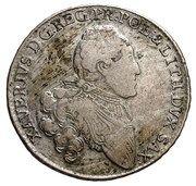 2/3 Talara / Gulden - Ksawery as Polish Prince (Drezno mint) – obverse