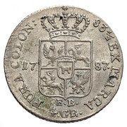 Złotówka koronna - Stanisław August Poniatowski (Warszawa mint) – reverse