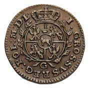Grosz koronny - Stanisław August Poniatowski (Kraków or Warszawa mint) – reverse