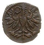 Denar wschowski - Zygmunt III Waza (Wschowa mint) – reverse