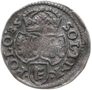 Szeląg koronny - Stefan Batory (Poznań mint) – reverse
