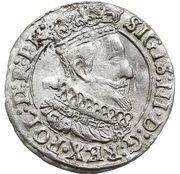 Grosz gdański - Zygmunt III Waza (Gdańsk mint) -  obverse