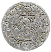 Ternar / Trzeciak łobżenicki - Zygmunt III Waza (Łobżenica mint) – obverse