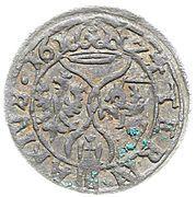 Ternar / Trzeciak łobżenicki - Zygmunt III Waza (Łobżenica mint) – reverse
