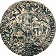 Półtalar koronny - Stanisław August Poniatowski (Warszawa mint) – reverse