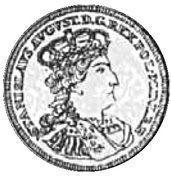 Dwuzłotówka gdańska - Stanisław August Poniatowski (Gdańsk mint) – obverse