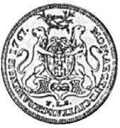 Dwuzłotówka gdańska - Stanisław August Poniatowski (Gdańsk mint) – reverse