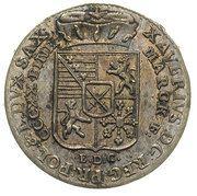 1/24 Talara - Ksawery as Polish Prince (Drezno mint) – obverse