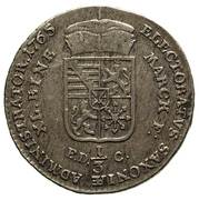 1/3 Talara - Ksawery as Polish Prince (Drezno mint) – reverse