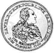 Dwutalar - Ksawery as Polish Prince (Drezno mint) – reverse