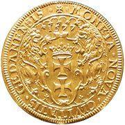 Pięciodukat oblężniczy - Gdańsk under siege (Gdańsk mint) – reverse