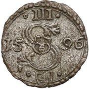 Ternar / Trzeciak koronny - Zygmunt III Waza (Malbork mint) – obverse