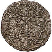Ternar / Trzeciak koronny - Zygmunt III Waza (Malbork mint) – reverse