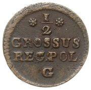 Półgrosz koronny - Stanisław August Poniatowski – reverse