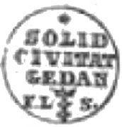 Szeląg gdański - Stanisław August Poniatowski (Gdańsk mint) – reverse