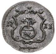 Halerz - August II Mocny (Lipsk mint) – reverse