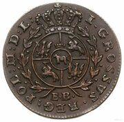 Grosz koronny - Stanisław August Poniatowski (Warszawa mint) – reverse