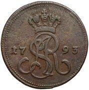 Grosz koronny / bigger type / - Stanisław August Poniatowski (Warszawa mint) – obverse