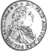 Trzydukat - August III Sas (Drezno mint) -  obverse