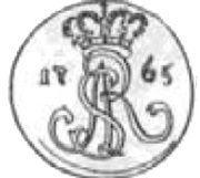 Grosz koronny - Stanisław August Poniatowski (Kraków mint) – obverse