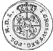 Grosz koronny - Stanisław August Poniatowski (Kraków mint) – reverse