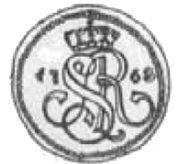 Grosz koronny / bigger type / - Stanisław August Poniatowski (Kraków mint) – obverse