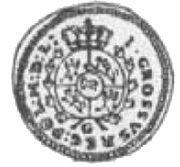 Grosz koronny / bigger type / - Stanisław August Poniatowski (Kraków mint) – reverse
