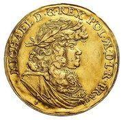Medal koronacyjny - Michał Korybut Wiśniowiecki – obverse