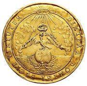Medal koronacyjny - Michał Korybut Wiśniowiecki – reverse