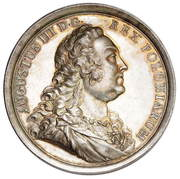 Medal nagrodowy - August III Sas (Lipsk mint) – obverse