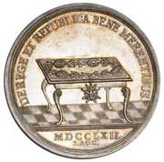 Medal nagrodowy - August III Sas (Lipsk mint) – reverse