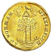 Medal - Ludwika Karolina Radziwiłł – reverse