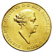 Medal koronacyjny - Stanisław August Poniatowski (Londyn mint) – obverse