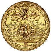 Medal - wagi 15 dukatów - Jan II Kazimierz Waza – obverse
