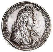 Medal abdykacyjny - Jan II Kazimierz Waza – obverse