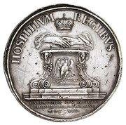 Medal abdykacyjny - Jan II Kazimierz Waza – reverse