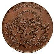 Medal nagrodowy - Stanisław August Poniatowski (Warszawa mint) – reverse