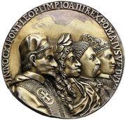 Medal Świętej Ligi - Jan III Sobieski – obverse