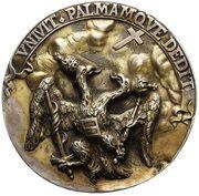 Medal Świętej Ligi - Jan III Sobieski – reverse