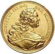 Medal nagrodowy - August III Sas (Drezno mint) – obverse