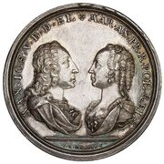 Medal - August III Sas – obverse