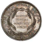 Medal - August III Sas – reverse