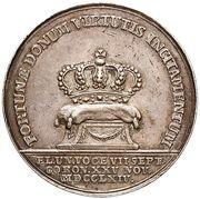 Medal koronacyjny - Stanisław August Poniatowski (Warszawa mint) – reverse